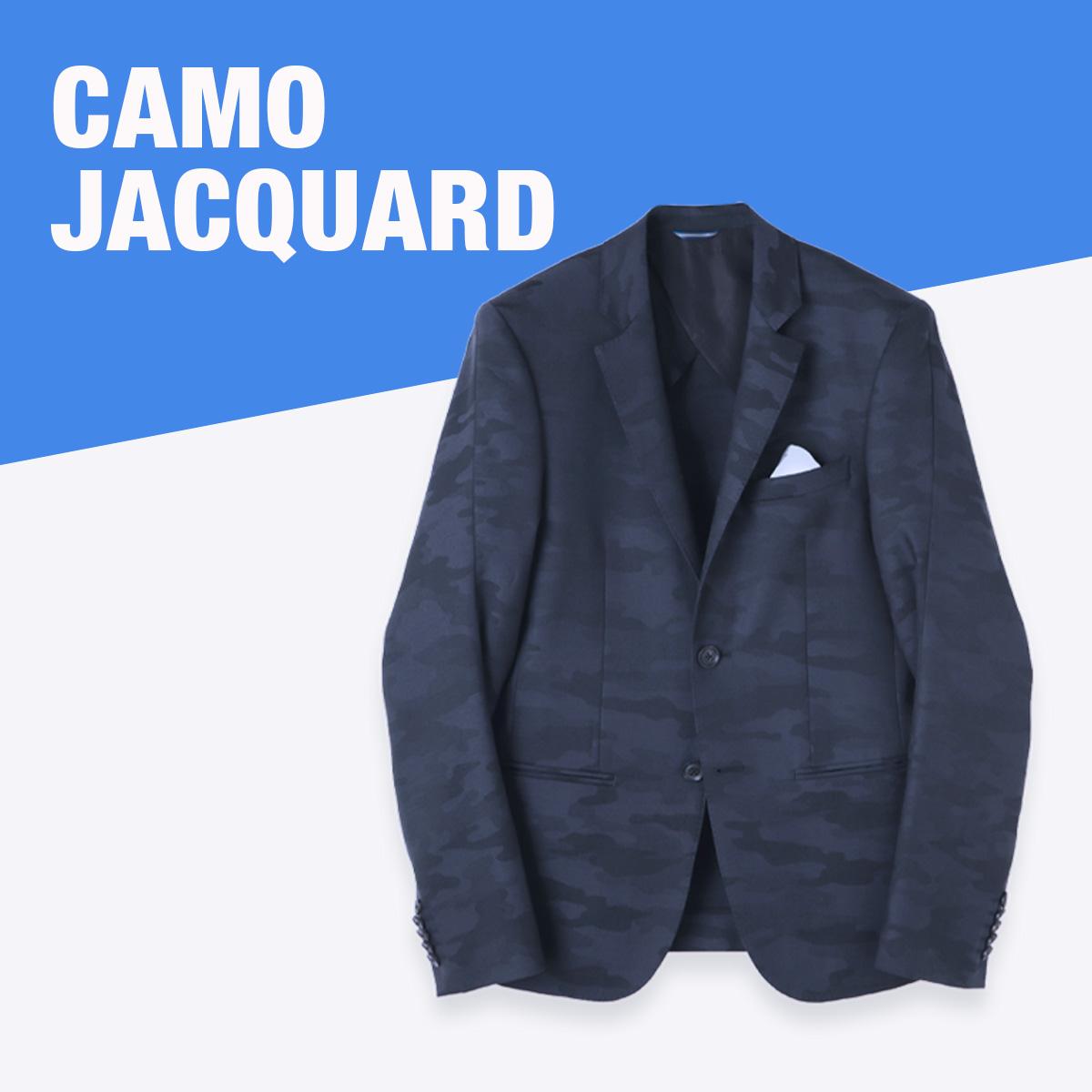 """女性ウケがいい """"CAMO JACQUARD"""""""