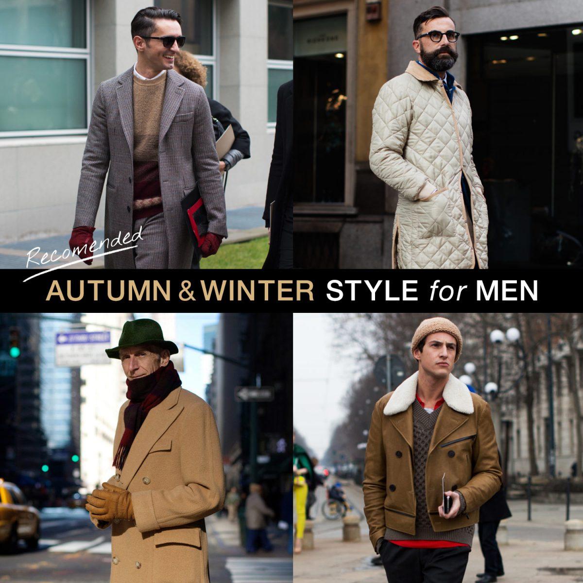 気温10度前後の秋冬メンズ服とは?おすすめコートなどを紹介!