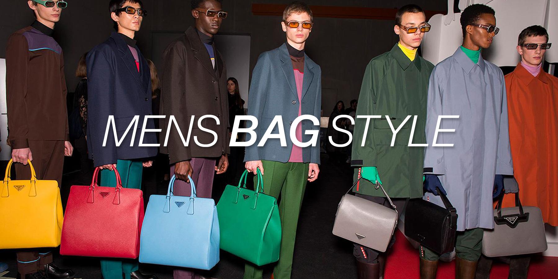 【メンズ】バッグを差し色にすればコーデが決まる!バッグの選び方・合わせ方を解説