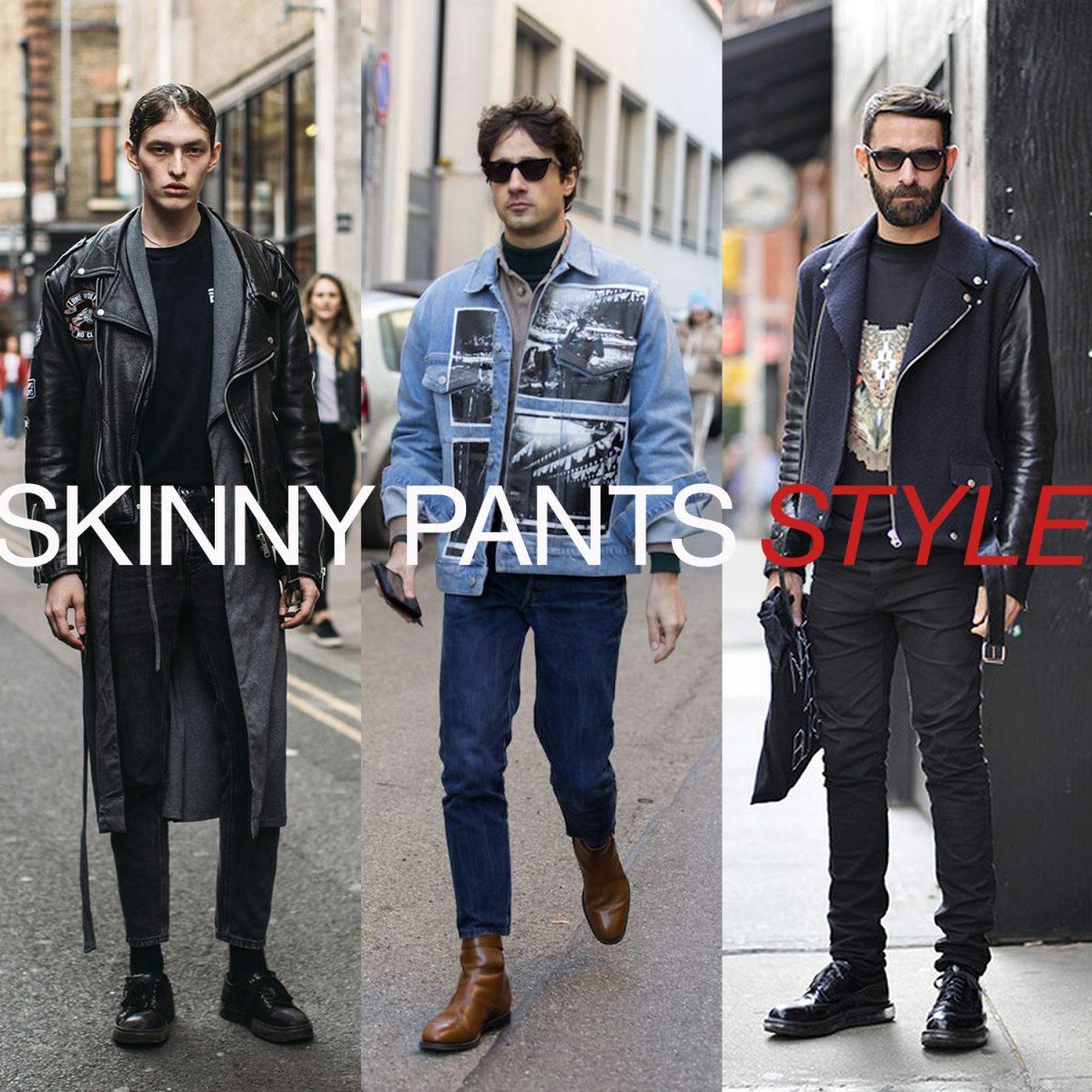 スキニージーンズ(パンツ)をかっこよく履きこなすポイント!メンズブランドやコーデも紹介